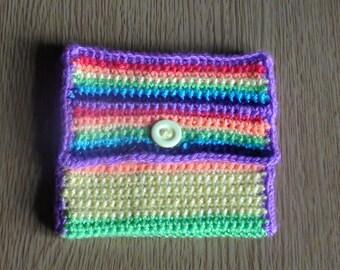 Rainbow Purse.