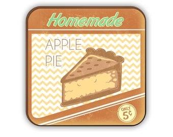 Homemade Apple Pie coaster