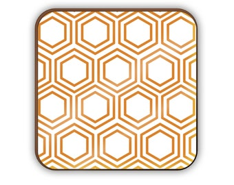 Hexagons coaster