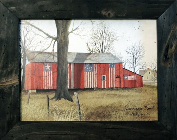 Americana decor wall decor primitive by rusticprimitivesetc - American home decor property ...