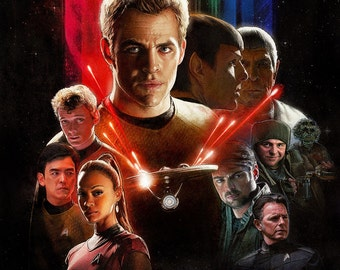 Star Trek Large A1 Poster