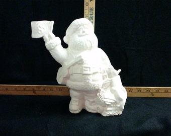 Ceramic Santa Claus-Tennessee state