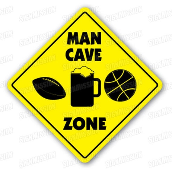 Man Cave Novelty Items : Man cave zone sign xing gift novelty garage men only mancave