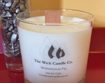 Mediterranean Fig - All Natural Soy Candle