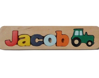WOODEN PUZZLE NAME - Jacob