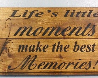 wood signs sayings