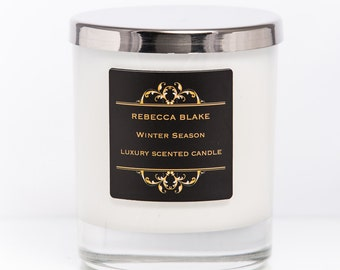 Winter Season Soy Candle