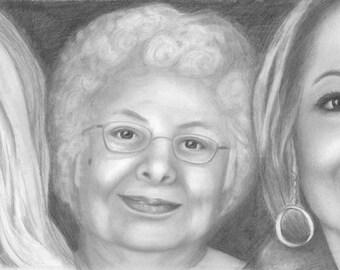 Family Portraits-  Custom portraits