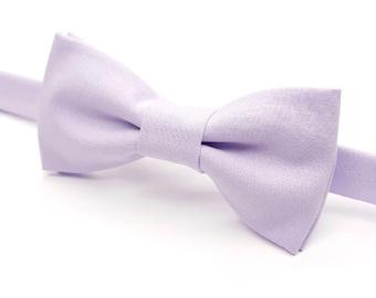Light Purple Bow tie, Purple Bowtie, Lavender Bowtie, Purple Bow tie, Lilac Bow tie, Men's Purple Bowtie, Pastel Bow tie, Pre-tied Bowtie