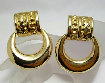 Doorknocker Earrings