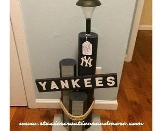 New York Yankees Light Post