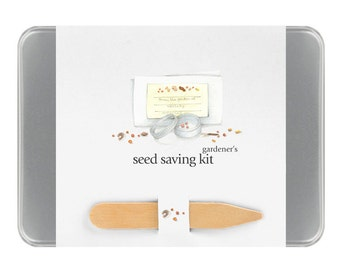 Seed Savers Garden Maker – Seed Collection - Seed Trading - Save Your Seed - Gift for Gardener - Garden Gifts - Mothers Day - Raised Bed