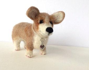 Dog Miniature - Needle Felted