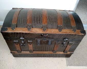 101 Refinished/Refurbished Antique Trunk