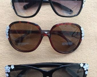 Set of three Glimmering sunglasses