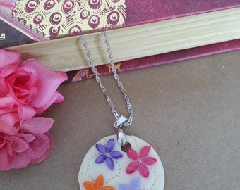 Flowers of joy pendant