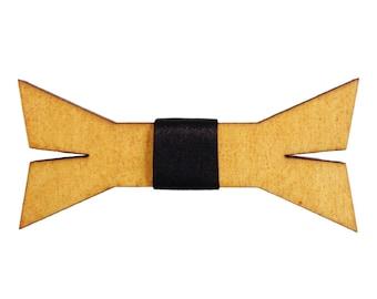 Derel Wooden Bow Tie Men Women Bowtie FREE WORLDWIDE SHIPPING