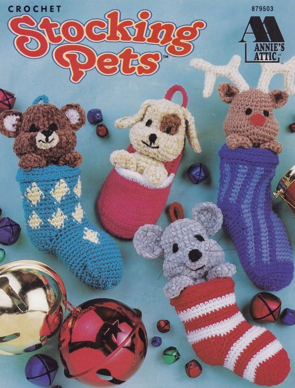 Stocking Pets Christmas Decor Annie S Attic Crochet