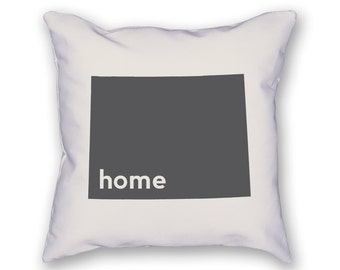 Wyoming Home Pillow