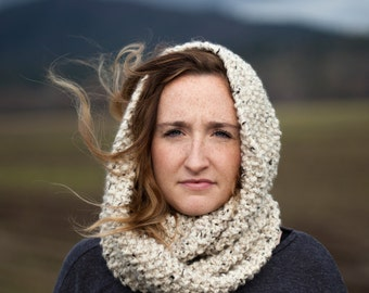 Oatmeal Loop Scarf