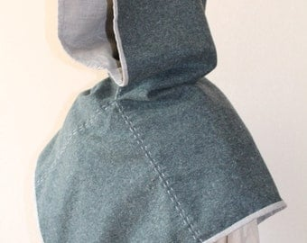 Viking hood, early medieval garment