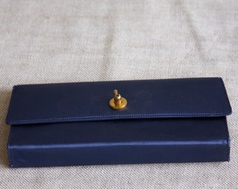 Vintage 1950's Evans Clutch  With Compact, Lipstick case, Perfume Spritzer, and Photo Frame