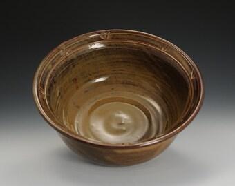 Medium Handmade Stoneware Serving Bowl Ready to Ship