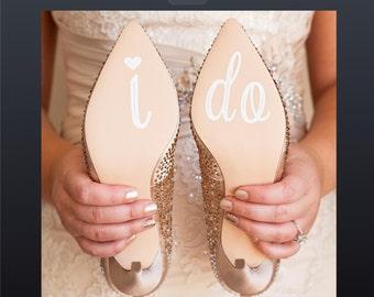I Do Decals, I Do Shoe Stickers, I Do Wedding Shoe Decal, Wedding Shoe Decals, Wedding Decals, Shoe Decals, I Do Sticker, Bridal Shoe Decals