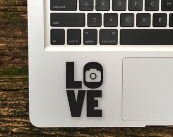 Photography Sticker,Love Photography Decal, Camera iPhone Decal, Camera iPad Sticker, Photography Laptop Decals, Photography