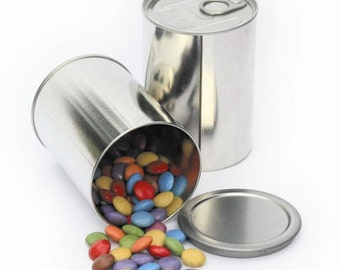 Self seal Gift Tin - Fill a tin can with your gifts then seal them inside and give as a uniquely packaged gift!
