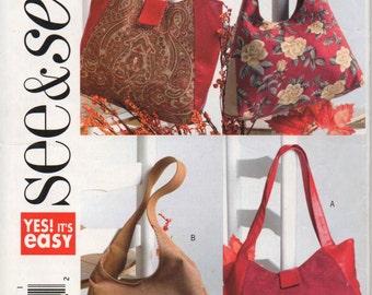 See & Sew Bag Pattern B4271