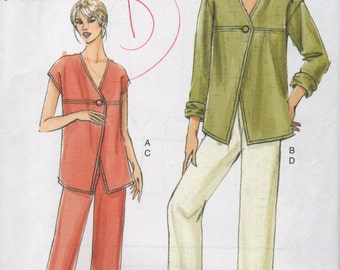Vogue pattern pants and top V8090