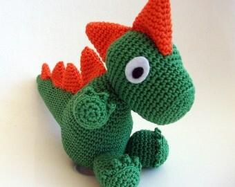 Burnie the amigurumi Drake. Gift idea. Christmas gift.