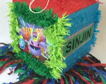 Skylanders Pinata Customize Name & Age FREE