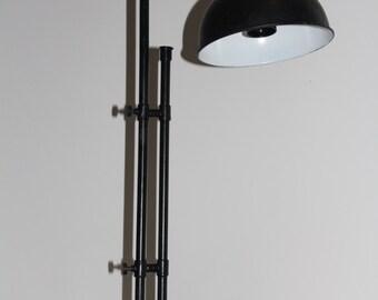 Brass Table Lamp Black Antique