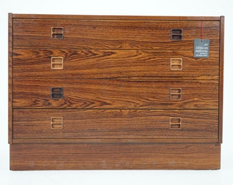 306-171 SALE! Danish Mid Century Modern Rosewood Dresser Chest of Drawers