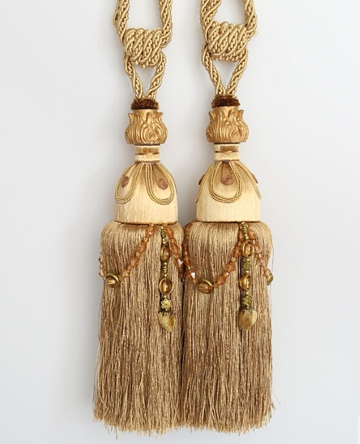 Large Tassels Home Decor: ONE Heavy LARGE 13 Luxury Tassel Curtain Tieback