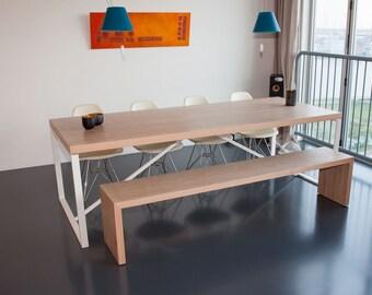 contemporary design plywood Bench