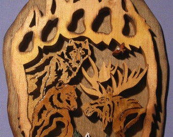 Bear Claw Wall Plaque