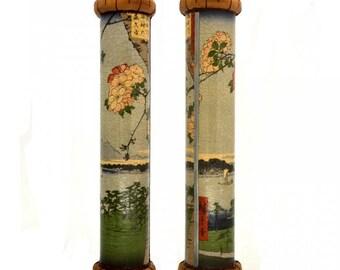 Kaleidoscope - Hiroshige: Sakura, Japanese Art Handmade Collectible Toy