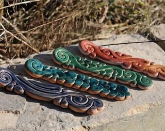 Incense Stick Holder, Handmade Incense Burner, Meditation Incense Holder, Zen Incense Burner, Incense, ceramic incense holder