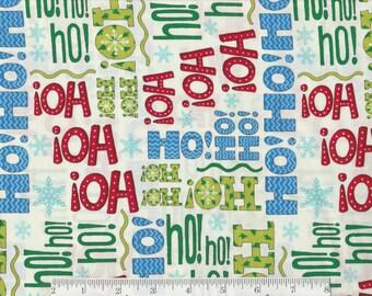 Ho Ho Ho ! - Moda - Per Yd - Deb Strain