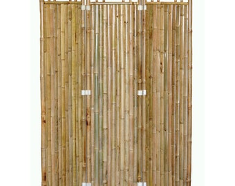bamboo 3 panel screen