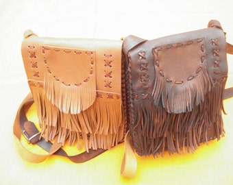 2. leather handbags