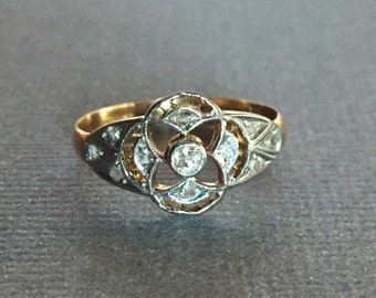 Edwardian Openwork Diamond Ring