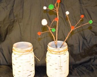 Birch pint mason jar
