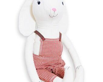 Bunny Lolo cuadraditos bib