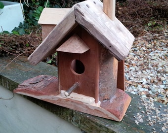 Rustic bird house made to order