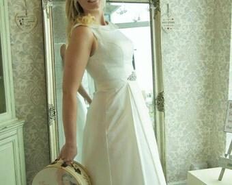 Hepburn Tea Wedding Dress