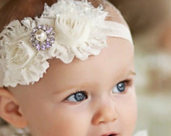 Shabby flower headband, photo shoots,
